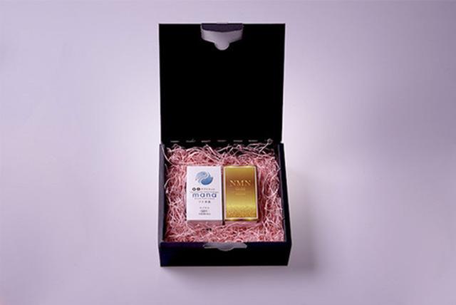 NMN Gold とmana水素の製品写真